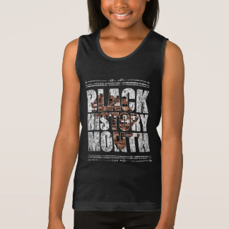 Black History Month. African Roots Tank Top