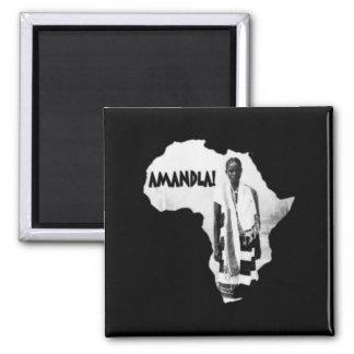 Black History Month - AMANDLA Refrigerator Magnet