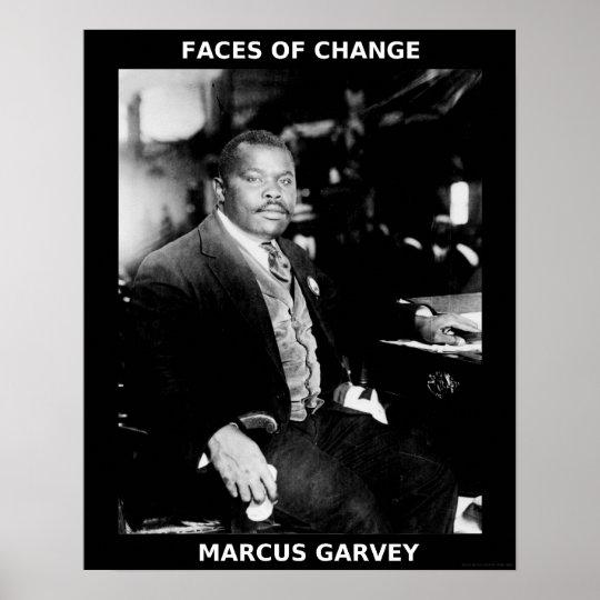 Black History Month Heroes - Marcus Garvey Poster