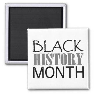 Black History Month Square Magnet