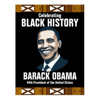 BLACK HISTORY POSTCARD