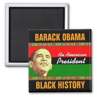 Black History Square Magnet