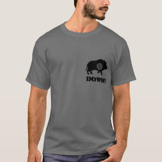 Black Hog Down! Shirt