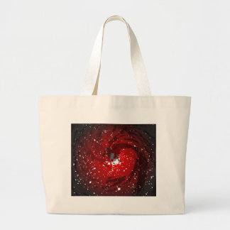 Black Hole Background Large Tote Bag