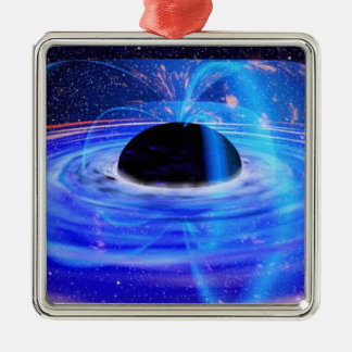 Black Hole Christmas Ornament