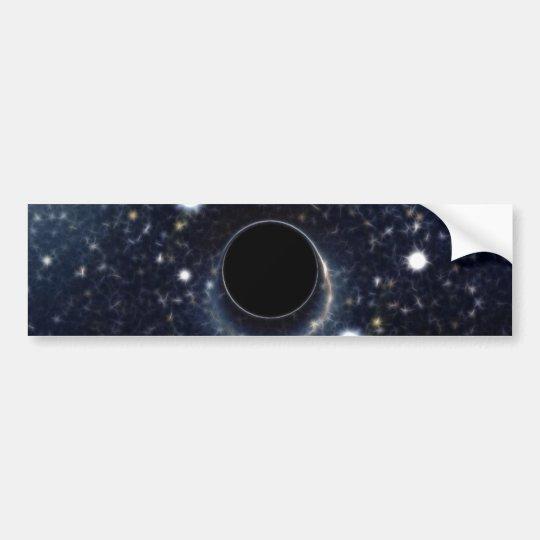Black Hole Einstein Ring NASA Bumper Sticker