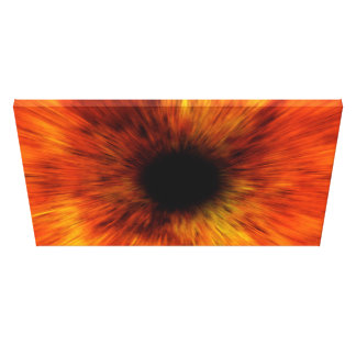 black hole gallery wrapped canvas