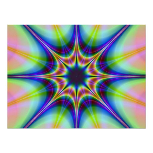Black Hole Hypnotic Poster