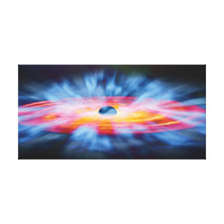 Black Hole Outflows Gallery Wrapped Canvas