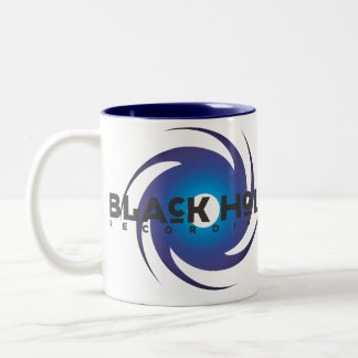 Black Hole Recordings Basic Blue Mug