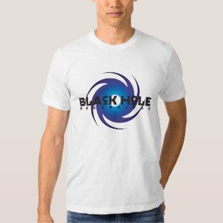 Black Hole Recordings Basic Blue Shirts