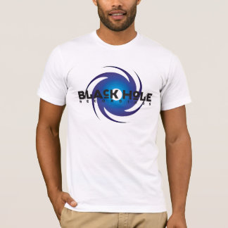 Black Hole Recordings Basic Blue T-Shirt