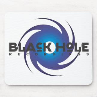 "Black Hole Recordings ""Blue"" Mousepad"