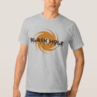 Black Hole Recordings Orange Logo Tee
