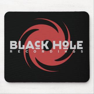 "Black Hole Recordings ""Original"" Mousepad Black"