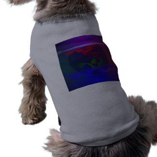 Black Hole Sleeveless Dog Shirt