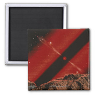 Black Hole Square Magnet