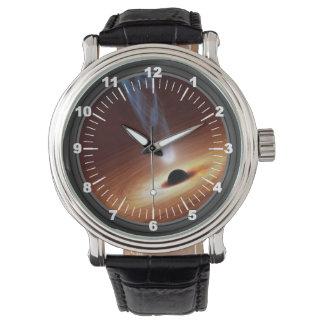 Black Hole Themed Wristwatch