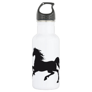 Black horse 532 ml water bottle