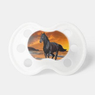 BLACK HORSE, BLACK STALLION, RUNNING AND FREE DUMMY