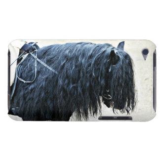 Black Horse Head Case-Mate iPod Touch Case