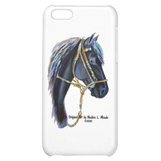 Black Horse Head iPhone 5C Case