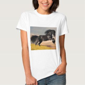 black_horse_running.jpg t shirt