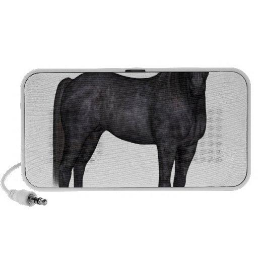 Black Horse Side View Mini Speakers