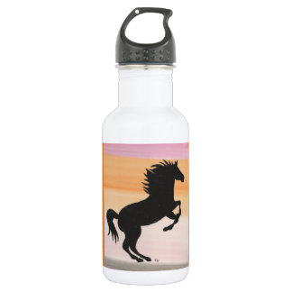 Black Horse Silhouette 532 Ml Water Bottle