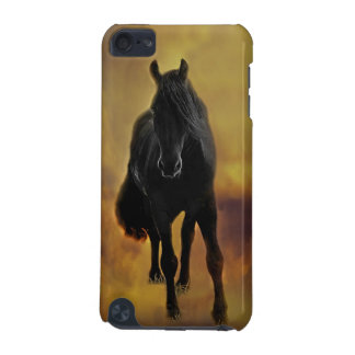 Black Horse Silhouette iPod Touch 5G Covers