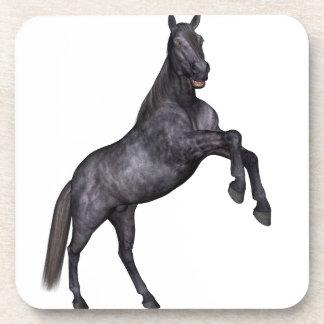 Black Horse Standing Beverage Coaster