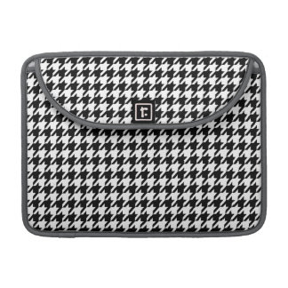 Black Houndstooth Sleeves For MacBook Pro