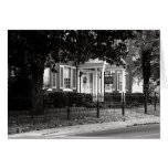 Black House McMinnville Tennessee Greeting Cards