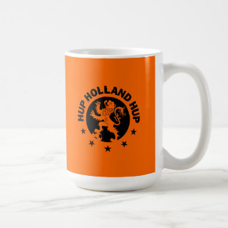 Black Hup Holland - Editable Background color Basic White Mug