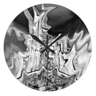 Black Ice Clock