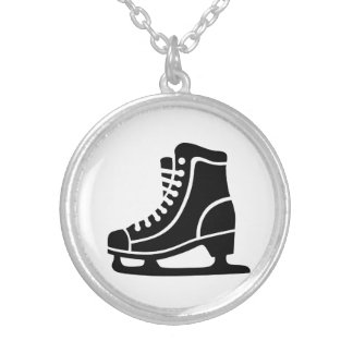 Black ice skate custom jewelry