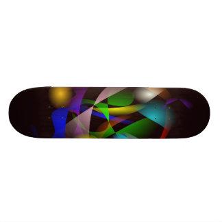 Black Illumination Skate Board Decks