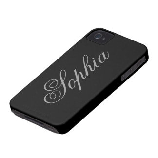 Black iPhone 4/4S CaCase iPhone 4 Cover