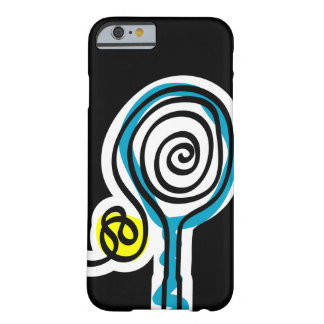 Black iPhone 6 case for tennis player
