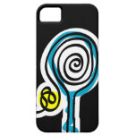 Black iPhone case for tennis player iPhone 5 Case