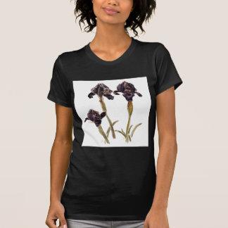 black iris of Jordan T-Shirt