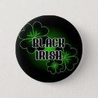 Black Irish 6 Cm Round Badge