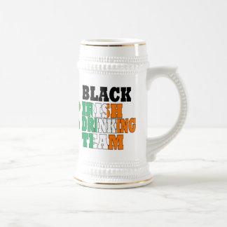 Black Irish  drinking team 18 Oz Beer Stein