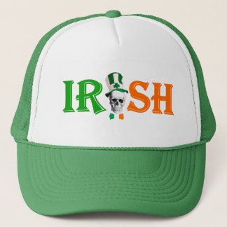 Black Irish  St Patrick's day Trucker Hat
