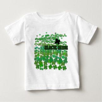 Black Irish Tons of Shamrocks T-shirt