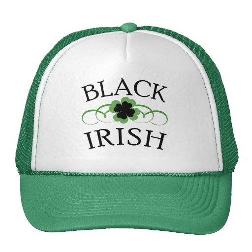 BLACK IRISH with Black Shamrock