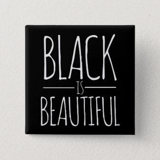 Black is Beautiful 15 Cm Square Badge