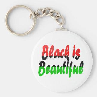 Black is Beautiful Pan-African Flag Key Ring