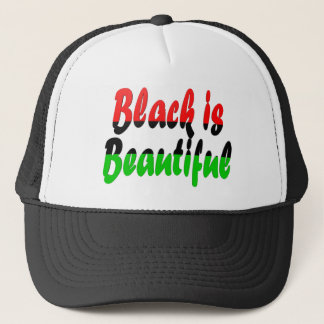 Black is Beautiful Pan-African Flag Trucker Hat