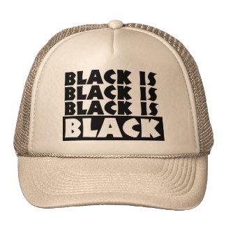 Black Is Black Cap